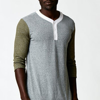 On The Byas Mags Henley T-Shirt at PacSun.com