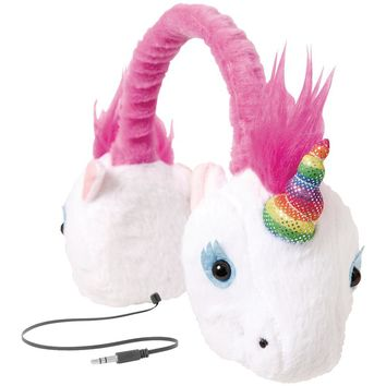 Retrak Retractable Animalz Headphones (unicorn)