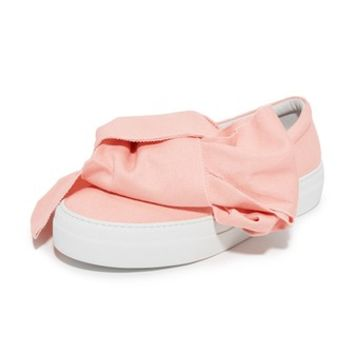 Bow Slip On Sneakers