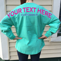 Custom Billboard Spirit Jersey for Any Sorority, Big or Little, Bridal or Bachelorette Party, Organization