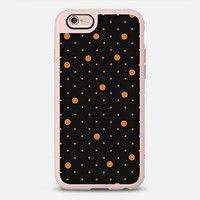 Pin Points Orange and Black #2 iPhone 6s case by Project M | Casetify