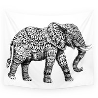 Society6 Ornate Elephant 3.0 Wall Tapestry