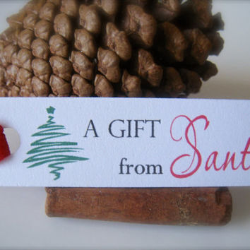 Gift tags, Christmas guft tags, holiday tags, labes for presents, gift labels - 15 tags