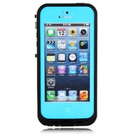 Viva New Waterproof Dustproof Snowproof Protection Case Cover For Apple iPhone 5 5S (Sky Blue)