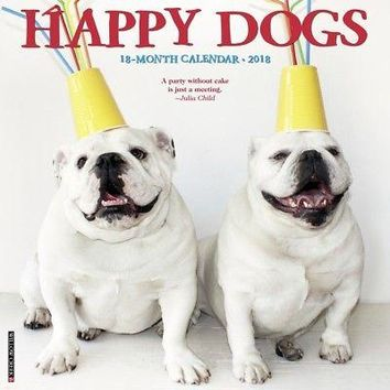 Happy Dogs Wall Calendar, Assorted Dogs by Willow Creek Press