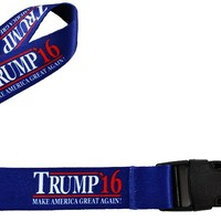 Donald Trump 2016 Lanyard Styled Keychain Strap