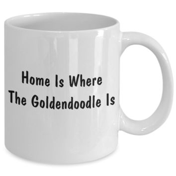 Goldendoodle's Home - 11oz Mug