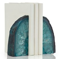 Agate Bookends | Bookends | Decorative Accessories | Accessories | Decor | Z Gallerie