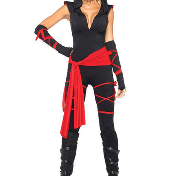 Leg Avenue Costumes - 5 PC. Deadly Ninja Halloween Costume