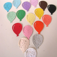 25 Seed Paper Balloons
