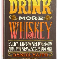 'Drink More Whiskey' Book
