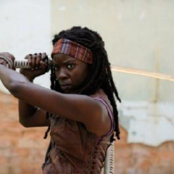 "Walking Dead Michonne Poster 16""x24"""