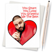 Valentines Day Card. I Love You Card. Funny Love Card. Boyfriend Gift. Valentine'S Day Gift. Gift For Her. Another One. Bless Up. Dj Khaled