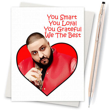Funny Valentine Card Dj Khaled They From Diamonddonatello On