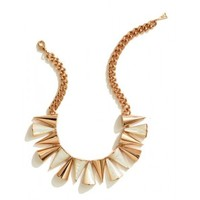 Cone Necklace, Mother of Pearl by Sarah Magid | Charm & Chain