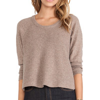 d.RA Jacaranda Sweater in Tan