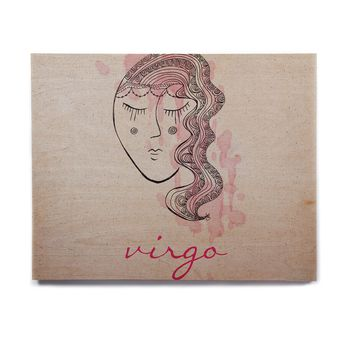 "Belinda Gillies ""Virgo"" Birchwood Wall Art"