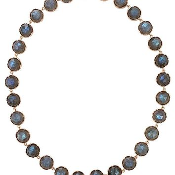 Irene Neuwirth rose cut labradorite necklace