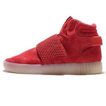 Adidas Men's Tubular Invader Fashion Sneakers Red Vintage White (10 (US))