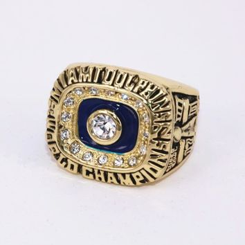 US Size 7 to 14! Factory price 1972 Miami Dolphin Spuer Bowl 7 championship ring replica SCOTT solid ring drop shipping