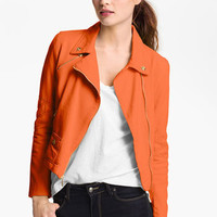 Steve Madden Colored Denim Moto Jacket | Nordstrom