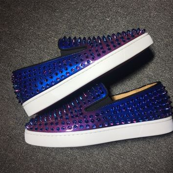 Christian Louboutin Cl Roller Boat Sneakers Reference 14 - Best Online Sale