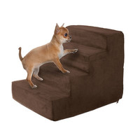 Brown High Density Foam Pet Stairs