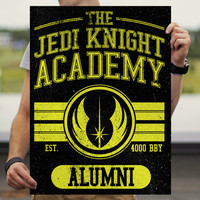 The Jedi Knight Academy Alumni Star Wars Poster ( Six 3 )