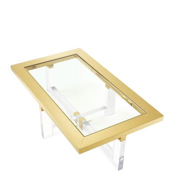 Gold Rectangular Coffee Table | Eichholtz Horizon
