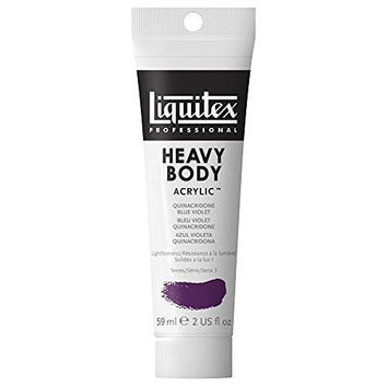 Liquitex Professional Heavy Body Acrylic Paint 2-oz tube, Quinacridone Blue Violet