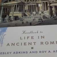 Handbook to Life in Ancient Rome by Leslie and Roy Adkins 1994 Paperback