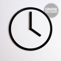 Picto Clock by Air Frame for Air Frame - Free Shipping