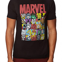 Marvel(c) Tee Black X-Small