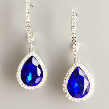 The Ocean Sapphire Earrings