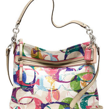COACH POPPY STAMPED C HIPPIE - Crossbody & Messenger Bags - Handbags & Accessories - Macy's
