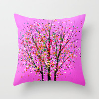 Dotz 4 Throw Pillow by Amy Giacomelli | Society6