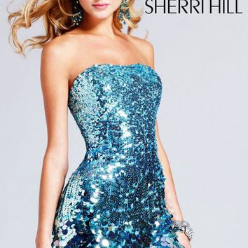 Sequined Prom Dress by Sherri Hill
