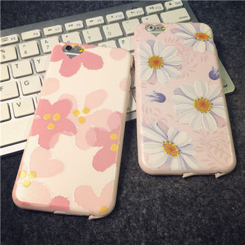 Flower mobile phone case for iphone 6 6s 6plus 6s plus + Nice gift box!
