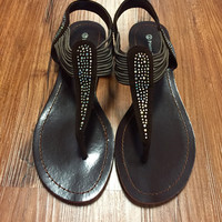Step it Up Sandals - Chocolate