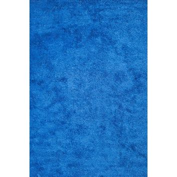 Blue Shag Area Rugs