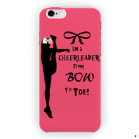 Cheers Cheerleader Bow To Toe For iPhone 6 / 6 Plus Case
