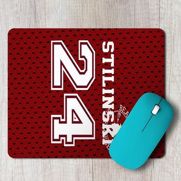 Rectangle Mouse Pad Teen Wolf Beacon Hills Lacrosse Jersey