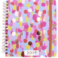 3 Happy Hooligans: 2019 Planner {Big Confetti}