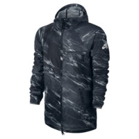 Nike SB Steele Lightweight Marble Men's Jacket Size XL (Black)