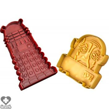 Doctor Who | Dalek & Sontaran Cookie Cutters