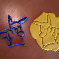 Pikachu Cookie Cutter/Multi Sizes