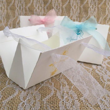 Baptism Favor Box - Christening Favors - Wedding Favor Box - Religious Events - Party Favor Boxes - Communion Favors - Confirmation Favors