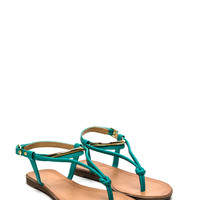 Knot Sure Plated Scaled Sandals