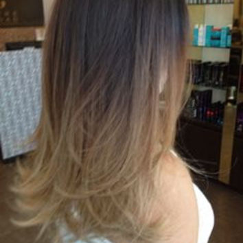 Ash Brown to Caramel Balayage Human Hair Extensions