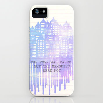 Paper Towns iPhone & iPod Case by Anthony Londer